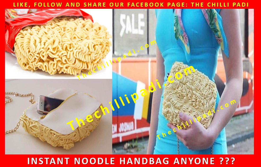 Instant Noodle Handbag